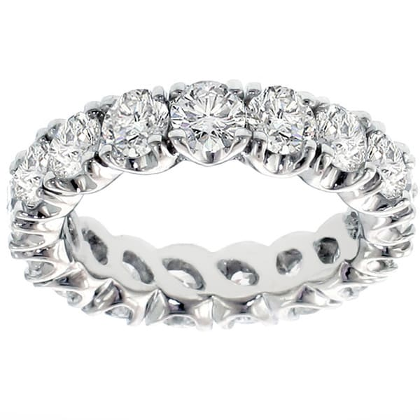 14k/ 18k Gold 3.05-3.60ct TDW Diamond Eternity Band (G-H, SI1-SI2)