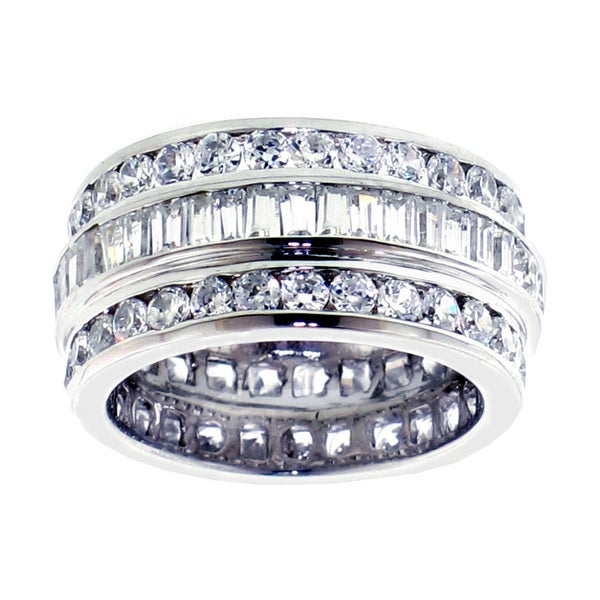14k/ 18k Gold or Platinum 5 1/2ct TDW Diamond Band (F-G, SI1-Si2)