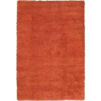 "Handmade Ritz Copper Wool Shag (5'7""x7'10"") - 5'7"" x 7'10"""