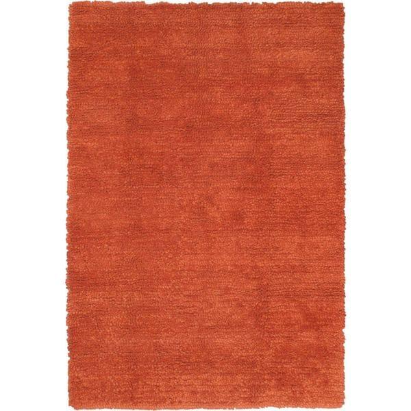 "Handmade Ritz Copper Wool Shag - 5'7"" x 7'10"""