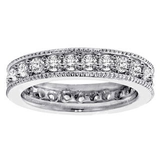 14k White Gold 1 3/4ct TDW Diamond Eternity Band