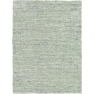 Anji Hand-loomed Anji/ Oatmeal Area Rug (7'10 x 10'10)