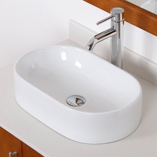 Elite C842F371023C High Temperature Grade A Ceramic Bathroom Sink