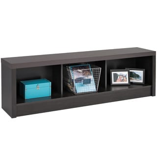 Hudson Washed Black Storage Bench