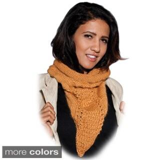 Boho Acrylic Handmade Neck-warmer Scarf (Nepal) (2 options available)