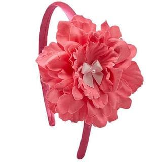 Bow Clippeez 2 Envy Girls Boutique Flower Headband