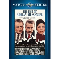 The List Of Adrian Messenger (DVD)