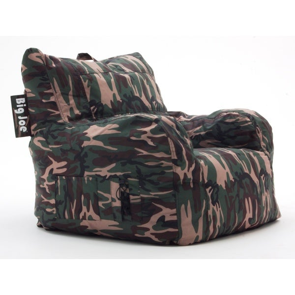 Camo Lounge Chair: BeanSack Big Joe Camoflauge Lounge Chair