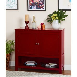 Simple Living Red Montego Buffet