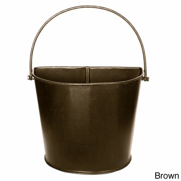 Bastia Metal Half Bucket Free Shipping Today Overstock