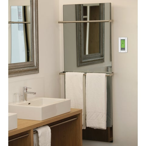 Warmly Yours Lava Glass Pure White 0250W Heating System
