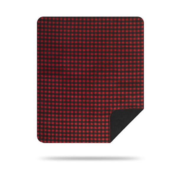 Red-Black Buffalo Check/Black