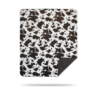 Link to Denali Brown Cow Throw Blanket Similar Items in Blankets & Throws