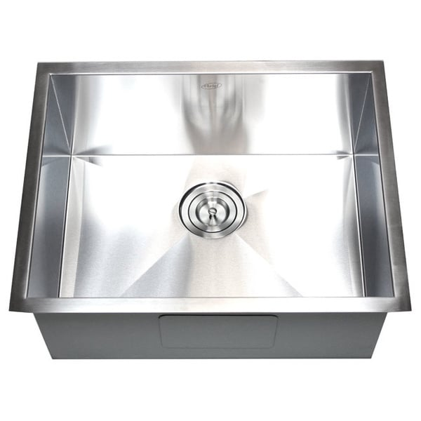 26-inch Stainless Steel Single Bowl Undermount Zero Radius Kitchen Sink. Opens flyout.
