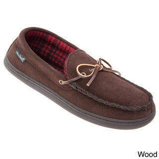 Woolrich Men's 'Potter' Suede Moccasin Slippers