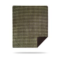 Denali Thyme-Chocolate Buffalo Check/Chocolate Blanket