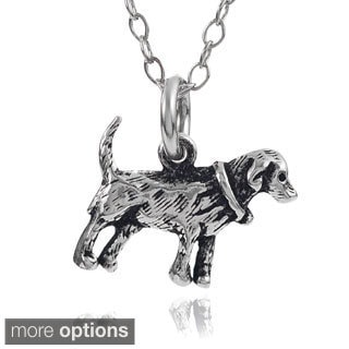 Journee Collection Sterling Silver Chinese Zodiac Necklace