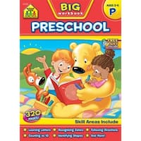 Big Workbook-Preschool, Ages 3-5