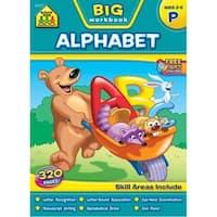Big Workbook-Preschool Alphabet, Ages 3-5