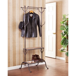 Harper Blvd Ashbury Entryway Shelf/ Hall Coat Rack Tree