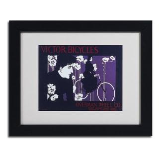 Vintage Apple Collection 'Bike 04' Framed Matted Art
