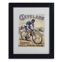 Vintage Apple Collection 'Bike 22' Framed Matted Art