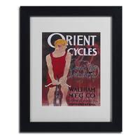 Vintage Apple Collection 'Bike 42' Framed Matted Art