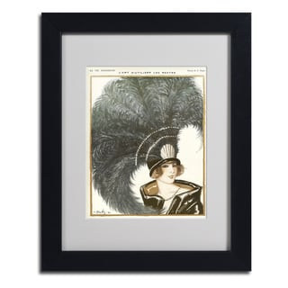 Vintage Apple Collection 'La Vie Parisienne' Framed Matted Art