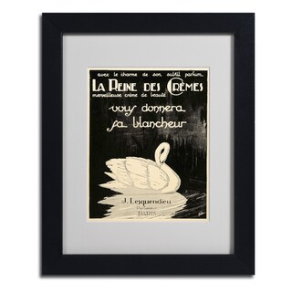 Vintage Apple Collection 'Lesquendieu Cremes' Framed Matted Art