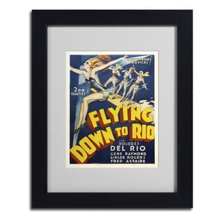 Vintage Apple Collection 'Flying Down to Rio' Framed Matted Art