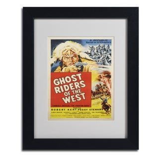 Vintage Apple Collection 'Ghost Riders of the West' Framed Matted Art