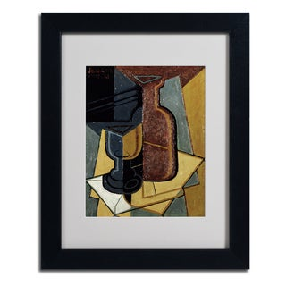 Unknown 'Abstract I' Framed Matted Art
