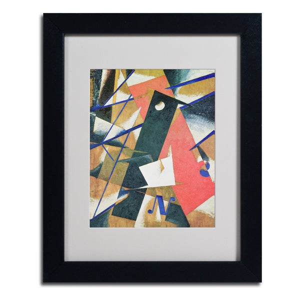 Unknown 'Abstract II' Framed Matted Art