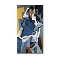 Juan Gris 'Figure of a Woman 1917' Canvas Art