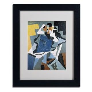 Juan Gris 'Figure of a Woman' Framed Matted Art