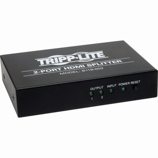 Tripp Lite 2-Port HDMI Video Splitter High Speed 1080p Video Resoluti