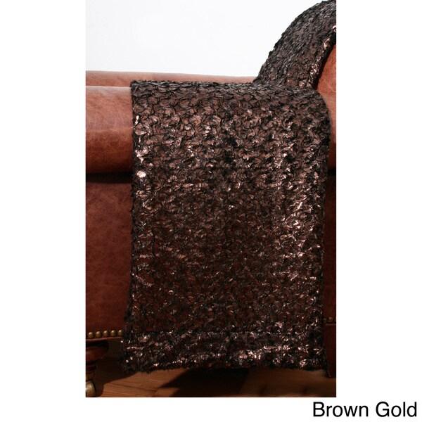 Barney Foil 50 x 60-inch Throw
