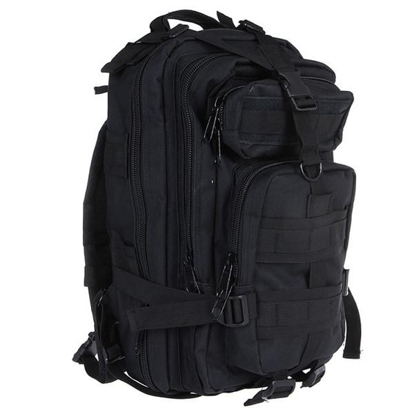 Dash 24/7 Mil-Tech Army Combat Tactical Assault Molle 30L Black Backpack