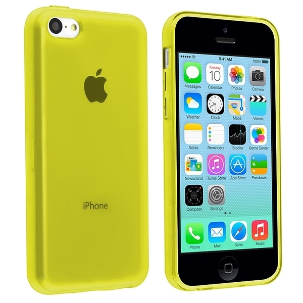 BasAcc Yellow TPU Rubber Case for Apple® iPhone 5C