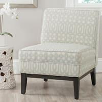 Safavieh Armond Silver/ Cream Chair