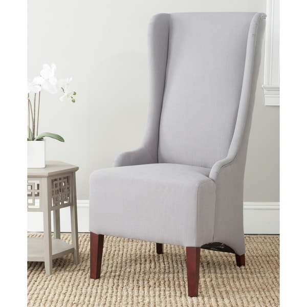 """Safavieh En Vogue Dining Bacall Arctic Grey Dining Chair - 24"""" x 28.3"""" x 47"""""""