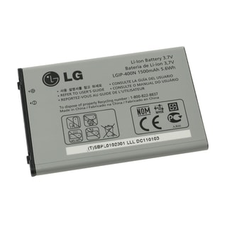 LG Optimus T P509 OEM Standard Battery LGIP400N/ SBPL0102301 in Bulk Packaging