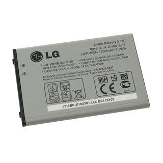 LG Optimus T P509 OEM Standard Battery LGIP400N/ SBPL0102301 in Bulk Packaging