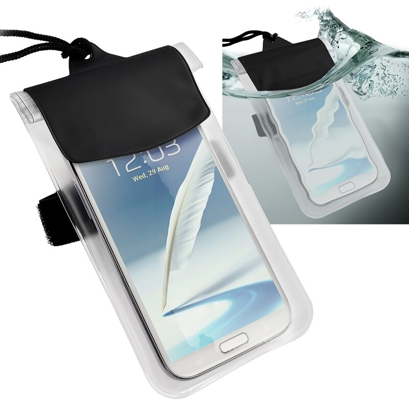 Insten Clear Universal Waterproof Bag Phone Case Cover (C...