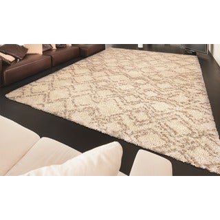 Bromley Pinnacle/ Ivory-camel Power-loomed Area Rug (7'10 x 11'2)