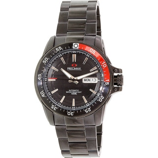 Precimax Men's Propel Automatic PX13200 Silver Stainless-Steel Black Dial Automatic Watch