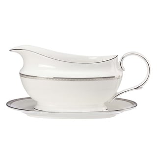 Lenox Murray Hill Sauce Boat and Stand