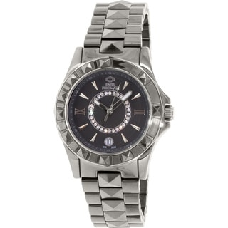 Swiss Precimax Women's Fiora SP13171 Grey Ceramic Grey Dial Swiss Quartz Watch