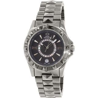 Swiss Precimax Women's Fiora SP13171 Grey Ceramic Grey Dial Swiss Quartz Watch