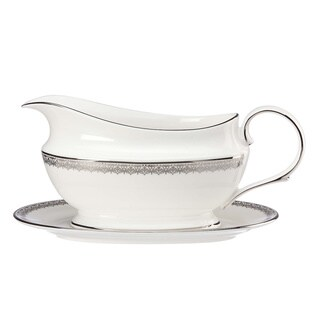 Lenox Lace Couture Sauce Boat and Stand